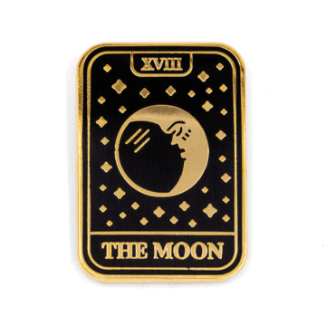 Moon Tarot - Enamel Pin