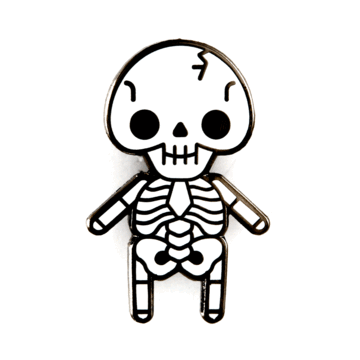 Skeleton Baby - Enamel Pin