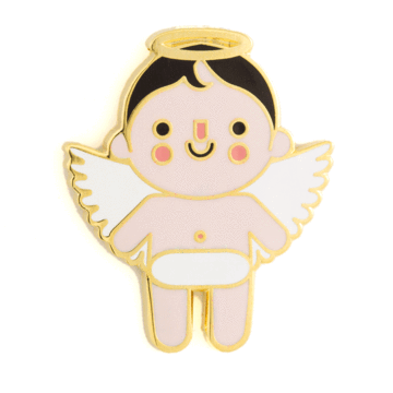Angel Baby - Light - Enamel