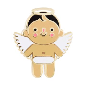 Angel Baby - Medium - Enamel Pin