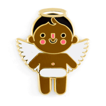 Angel Baby - Dark - Enamel