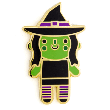 Witch Baby - Enamel Pin