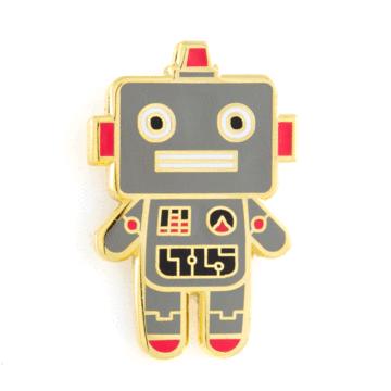 Robot Baby - Enamel Pin