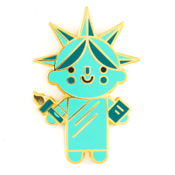 Liberty Baby - Enamel Pin