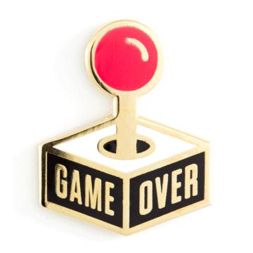 Game Over - Enamel Pin