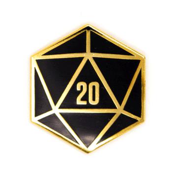 D20 - Enamel Pin