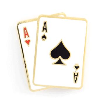 Aces - Enamel Pin