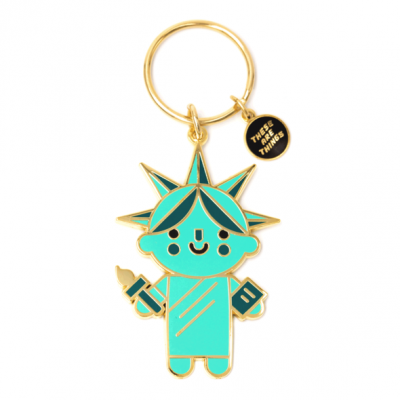 Liberty Baby - Enamel Keychain