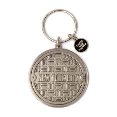 NYC Sewer - Enamel Keychain