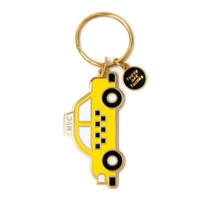 NYC Taxi - Enamel Keychain