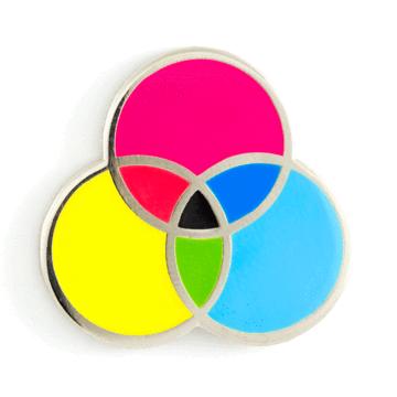 CMYK - Enamel Pin