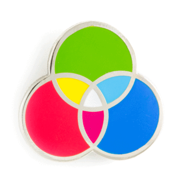 RGB - Enamel Pin