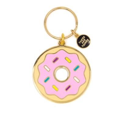 Donut - Enamel Keychain