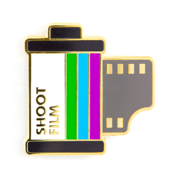 Shoot Film - Enamel Pin
