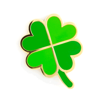 Four Leaf Clover - Enamel Pin