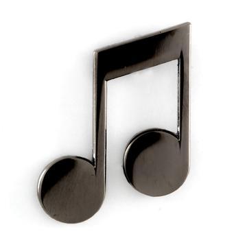 Music Note - Enamel Pin