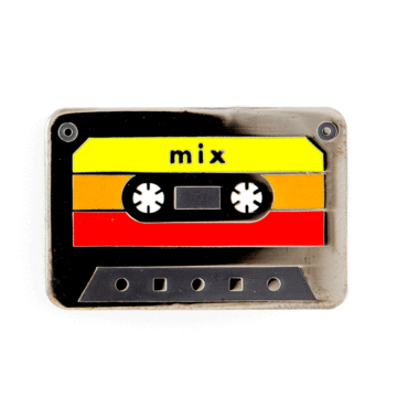 Mix Tape - Enamel Pin