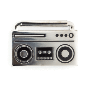 Boom Box - Enamel Pin
