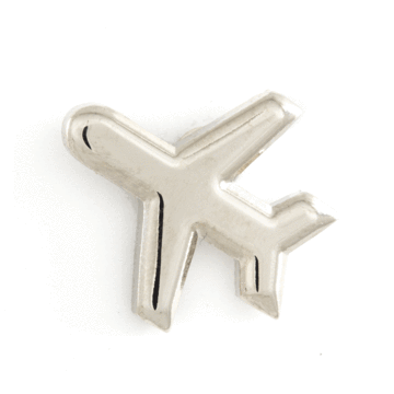 Airplane - Enamel Pin