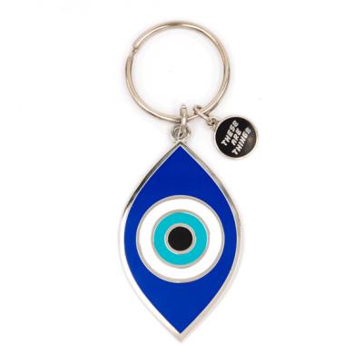 Evil Eye - Enamel Keychain