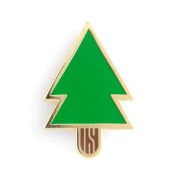 Pine Tree - Enamel Pin