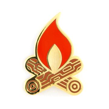 Campfire - Enamel Pin