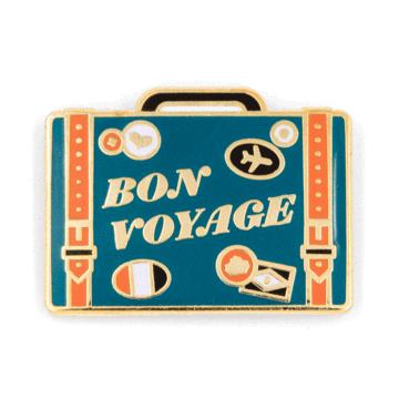 Bon Voyage - Enamel Pin