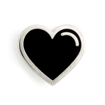 Black Heart - Enamel Pin