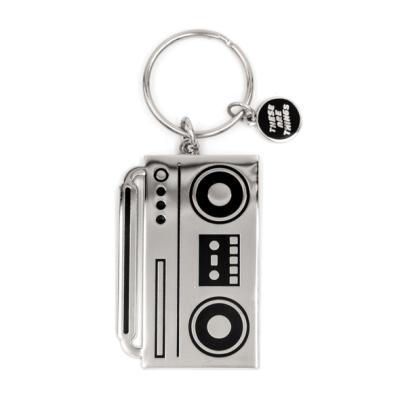 Boombox - Enamel Keychain
