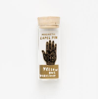 Mystik Hand Lapel Pin - VE 4