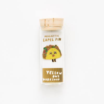 Taco Lapel Pin - VE 4