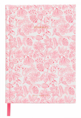 Moxie Floral Fabric Journal Rifle Paper