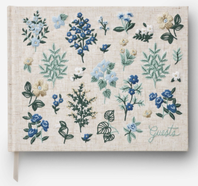 Wildwood Embroided Guest Book Rifle Paper