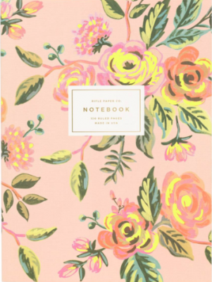 Jardin de Paris Memoir Notebook - Rifle Paper Notebook