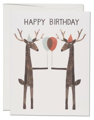 Party Deer Card