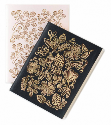 Gold Foil Pocket Notebooks - VE 6