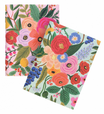 Garden Party Pocket Notebooks - Notizbücher A6