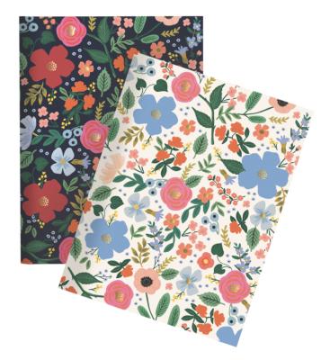 Wild Rose Pocket Notebooks - Notizbücher A6