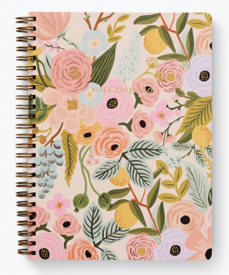 Garden Party Spiral Notebook Rifle Paper