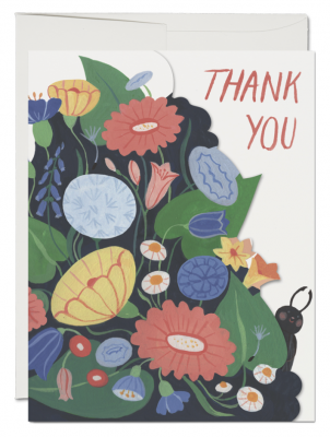 Bugs Thank You Card French Fold