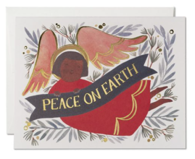 Peace Angel Card - Red Cap Cards