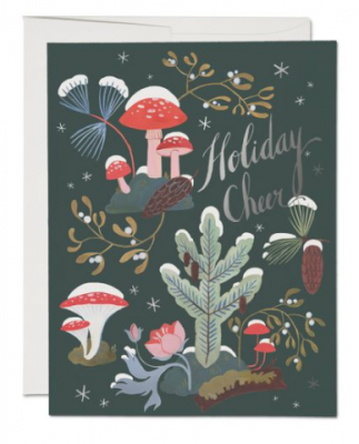 Holiday Moss Card Red Cap Cards