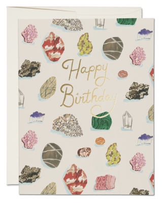 Birthday Gems Card Red Cap Cards