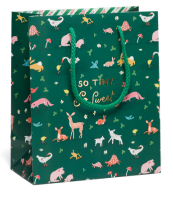 Tiny Animals Bag - Red Cap Cards