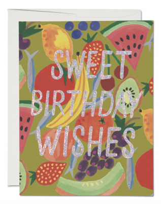 Fruity Birthday Card Red Cap Cards