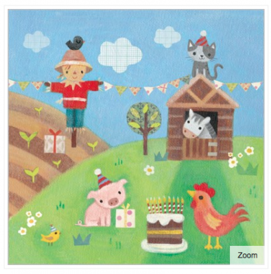 Farmyard Fun Card - VE 6