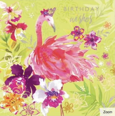 Songbirds 2 Card - VE 6