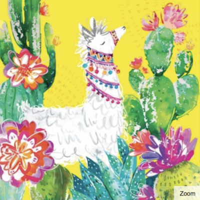 Cactus Garden Card - Greeting Card