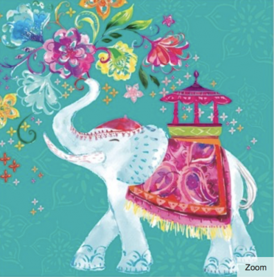 Maharajah Card - Greeting Card