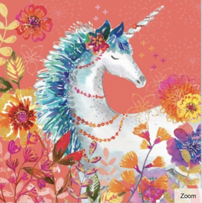 Magical Unicorn Card - Greeting Card